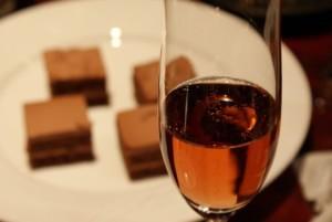 チョコレートとワイン