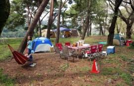 BBQ上大島キャンプ場1