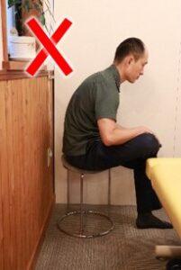 お尻ストレッチ椅子5