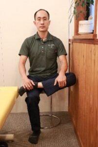 お尻ストレッチ椅子1