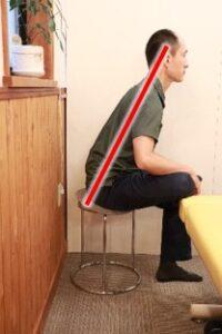 お尻ストレッチ椅子3